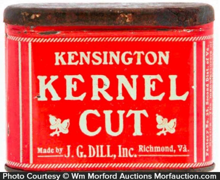 Kensington Kernel Cut Tobacco Tin