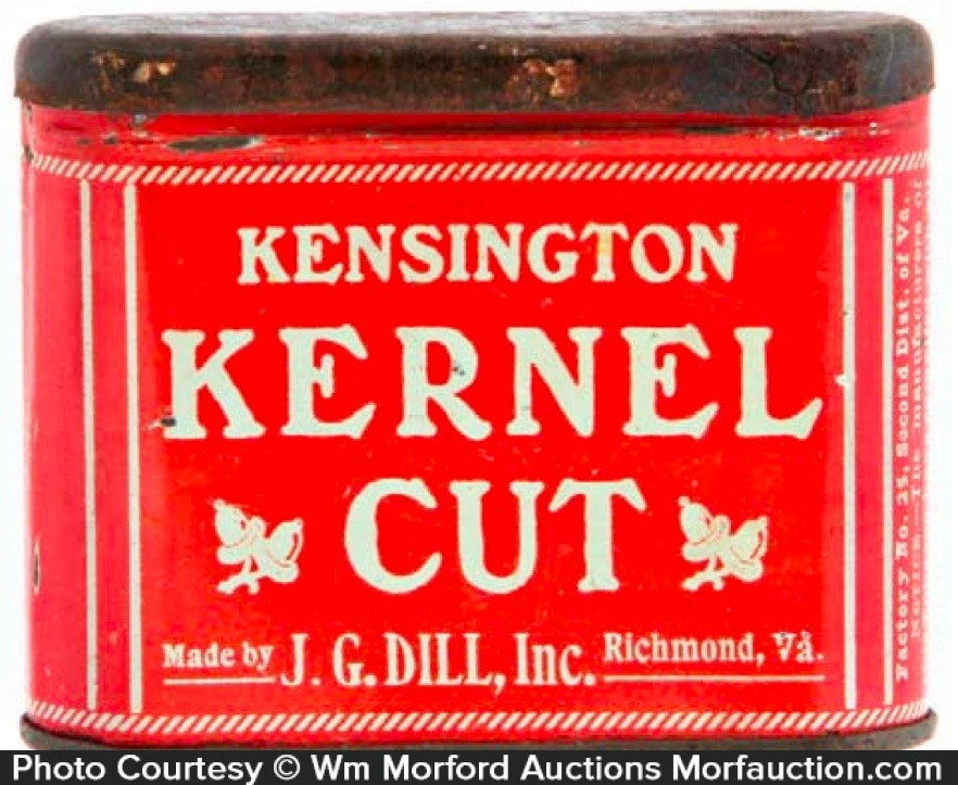 Kensington Kernel Cut Tobacco Tin