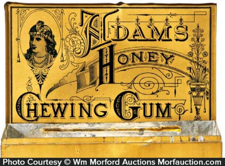 Adams Honey Gum Tin