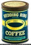 Wedding Ring Coffee Can