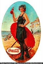 1922 Coke Mirror