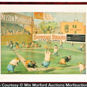 Supreme Lard Baseball Sign