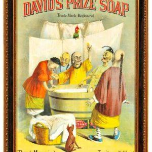 David's Prize Soap Sign