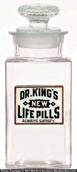 Dr. King's Life Pills Jar
