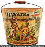 Hiawatha Tobacco Pail