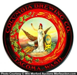Columbia Brewing Beer Tray