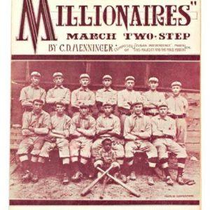 Millionaires Baseball Sheet Music