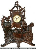 M. J. Bachman Advertising Clock