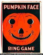 Pumpkin Face Ring Game