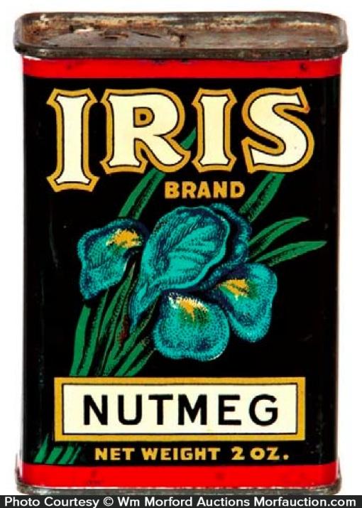 Iris Spice Tin