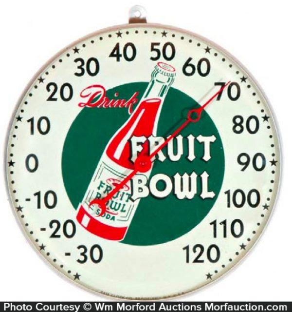Fruit Bowl Soda Thermometer
