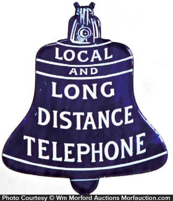 Bell Telephone Sign