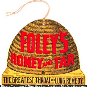 Foley's Honey and Tar Remedy Sign