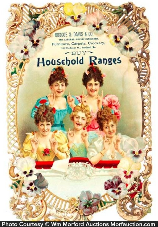 Household Ranges Sign