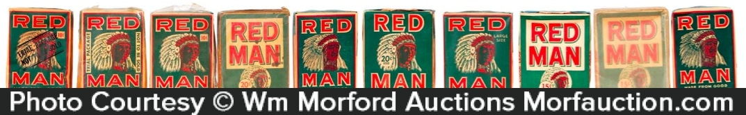 Red Man Tobacco Packs