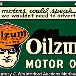Oilzum Sign