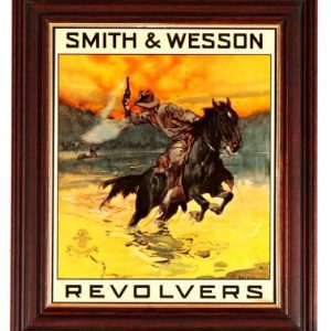 Smith & Wesson Revolvers Poster