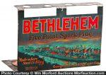 Bethlehem Spark Plugs Display