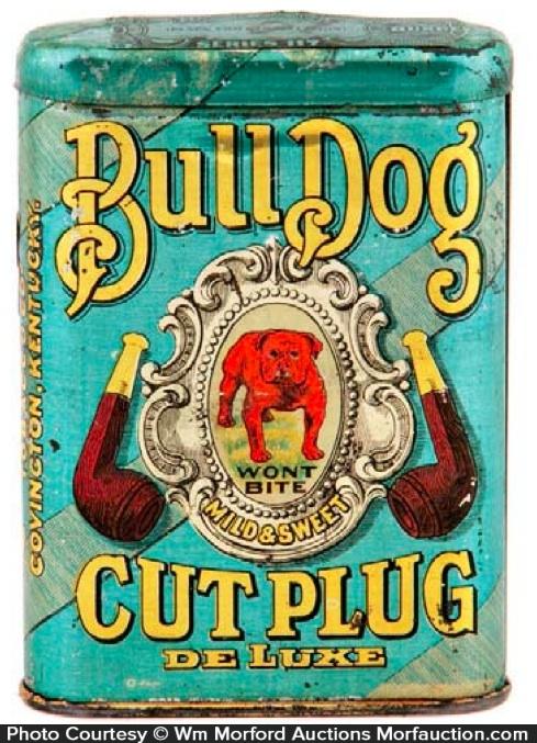 Bull Dog Tobacco Tin