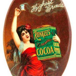 Runkel's Cocoa Pocket Mirror