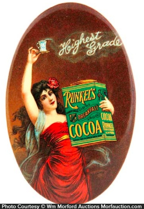 Runkel's Cocoa Pocket Mirror