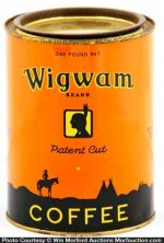 Wigwam Coffee Can