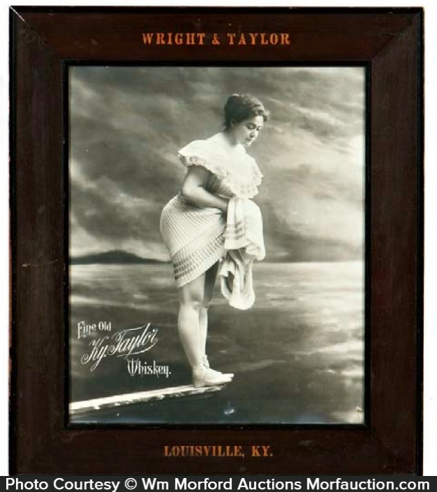 Taylor Whiskey Sign