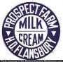 Prospect Farm Dairy Sign