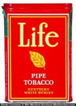 Life Pipe Tobacco Tin