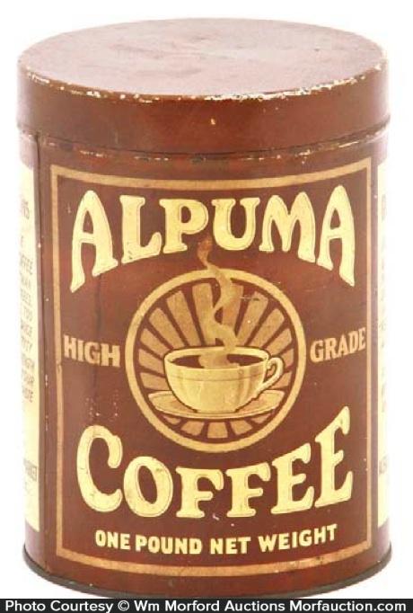 Alpuma Coffee Can