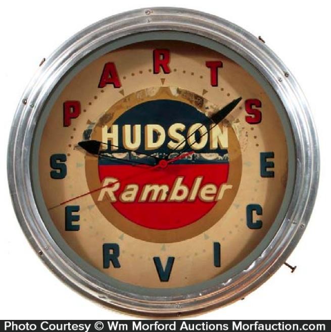 Hudson & Rambler Neon Clock