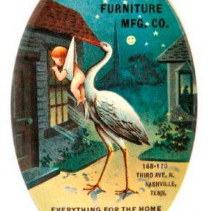 Bradford Furniture Pocket Mirror