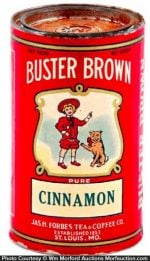 Buster Brown Spice Tin