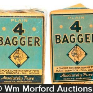 Vintage Baseball Theme Tobacco Packs