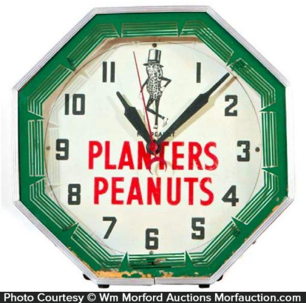 Planters Peanut Clock