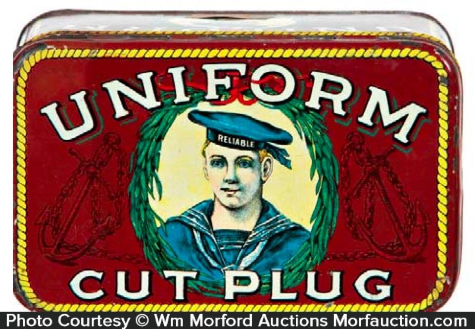 Uniform Tobacco Tin