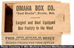 Omaha Box Sample Apple Crate