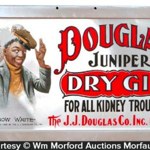 Douglas Juniper Gin Sign