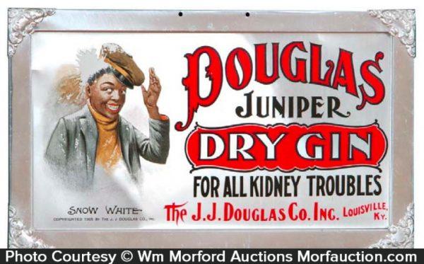 Douglas Juniper Gin Sign