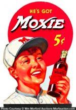 Moxie Baseball Sign