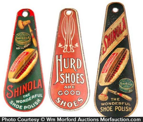 Vintage Advertising Shoe Horns