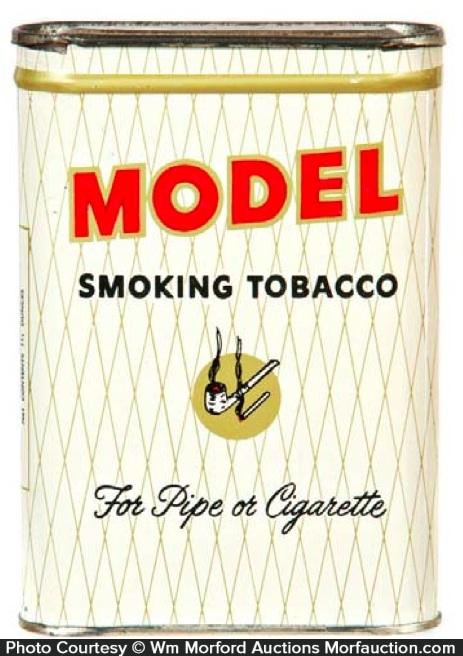 Model Tobacco Pocket Tin