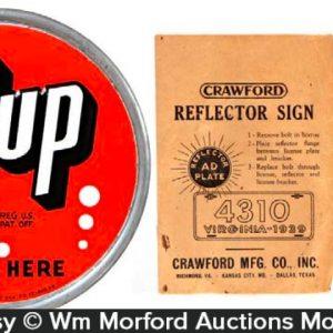 Vintage 7Up Lot