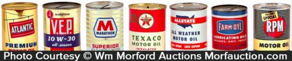 Vintage Oil Can Banks