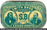 Smith Bros. Cough Drops Tin