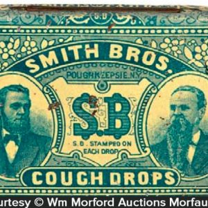 Smith Bros. Cough Drops Tin