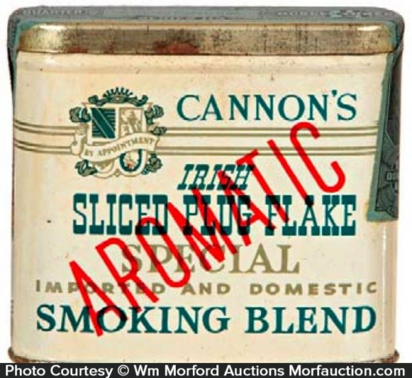 Cannon's Irish Tobacco Tin