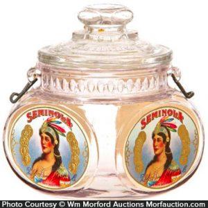 Seminola Tobacco Jar