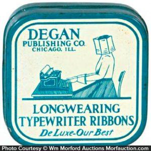 Degan Typewriter Tin