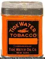 Tide Water Tobacco Sample Tin